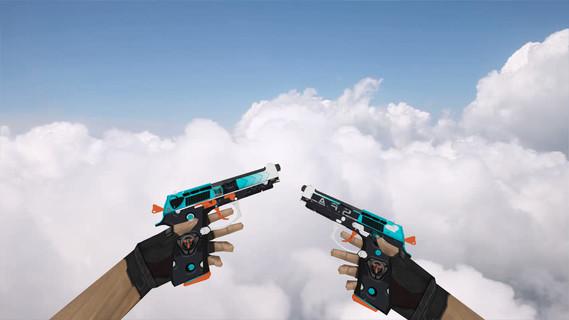 Dual Berettas Trigger Happy