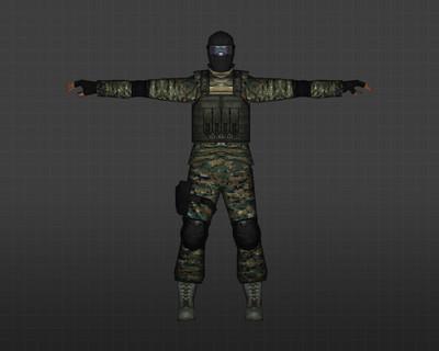 Элитный солдат