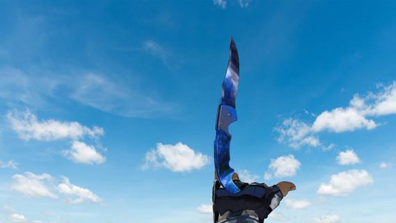 Falchion Doppler Blue