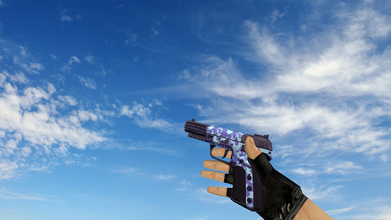 Five-Seven Desert Camo Blue