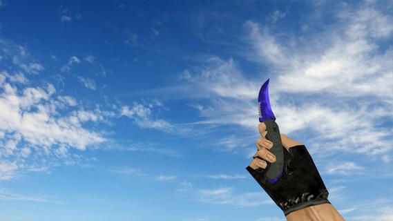 Складной нож «Doppler Sapphire»