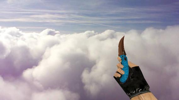 Складной нож «Королевский синий»
