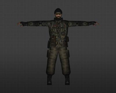 Террористы Лесной камуфляж