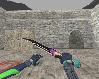 Glitchpop Knife