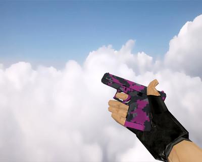 Glock-18 | Пиксельный камуфляж «Розовый» (Pink DDPAT)