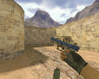 Glock Синяя трещина