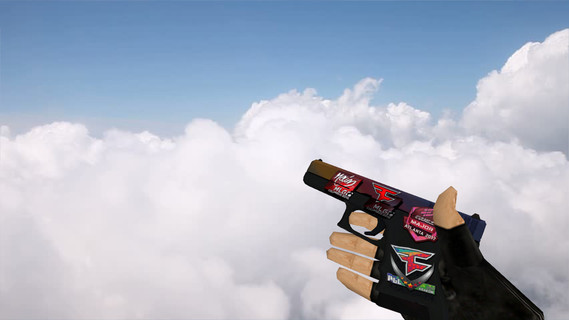 Glock «Градиент» с наклейками