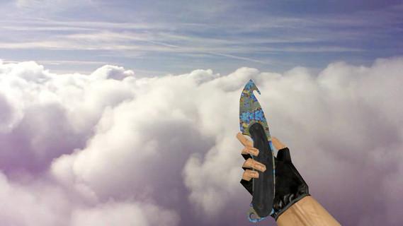 Нож с лезвием-крюком «Поверхностная закалка»
