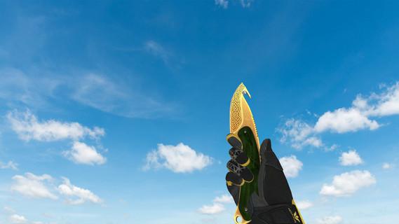 Нож с лезвием-крюком «Легенды»