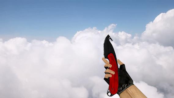 Нож с лезвием-крюком «Нитро»