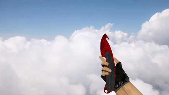Gut Knife Ruby Red