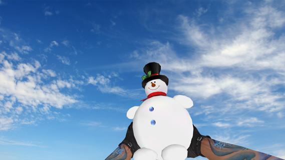 Happy Snowman Grenade