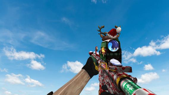 HK-416 Merry Christmas