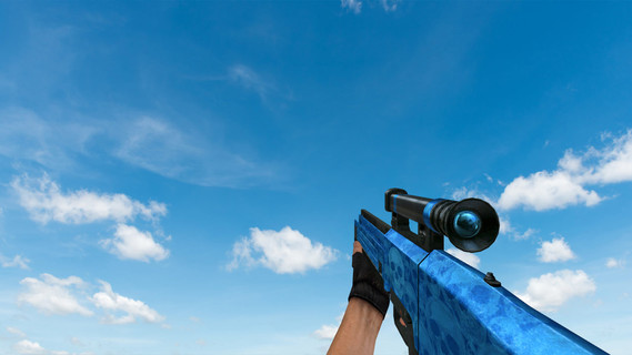 HK G11 Default Blue Skull