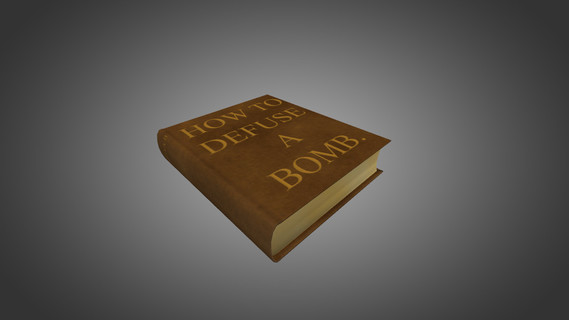 How to Defuse a Bomb Book