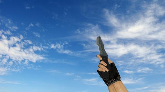 Охотничий нож «Поверхностная закалка»