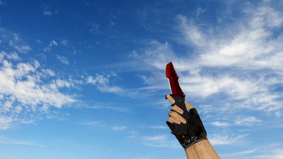 Охотничий нож Knife «Кровавая паутина»