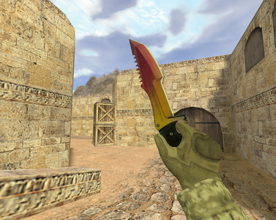 Охотничий нож Градиент