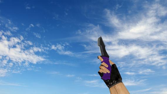 Охотничий нож Knife «Ультрафиолет»