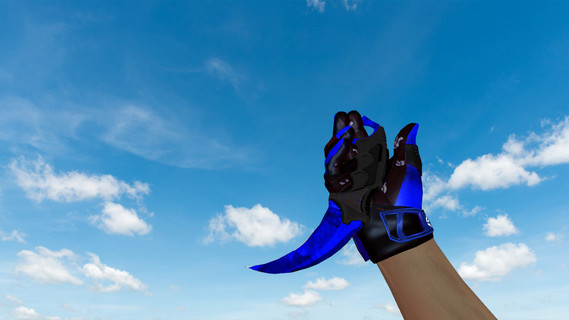 Керамбит «Doppler Sapphire»