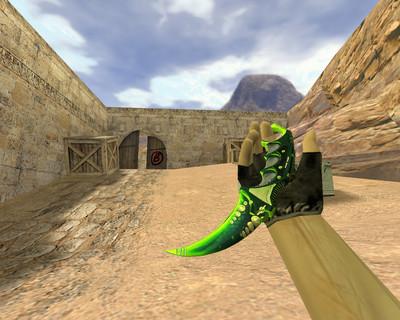 Керамбит Зеленый мечтатель