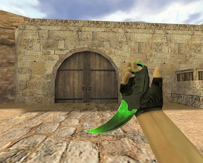 Нож Керамбит Гамма-волны