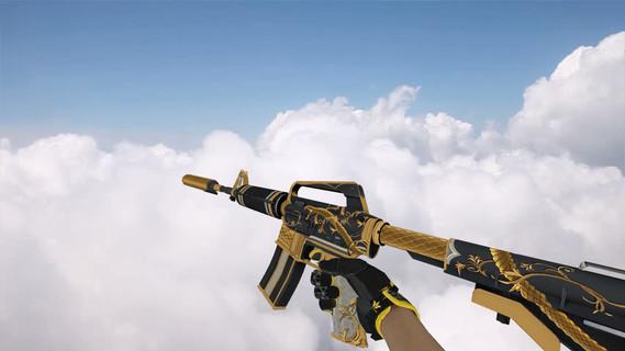 M4A1 «Золотая спираль»