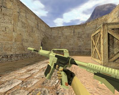 М4А1 Механо-пушка
