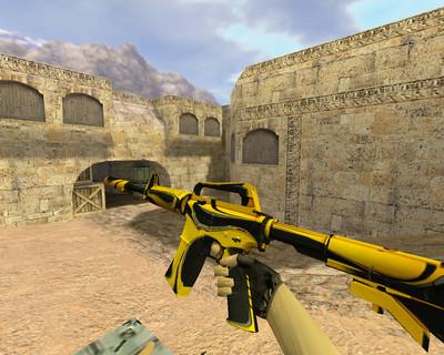 М4А1 Желтый жакет