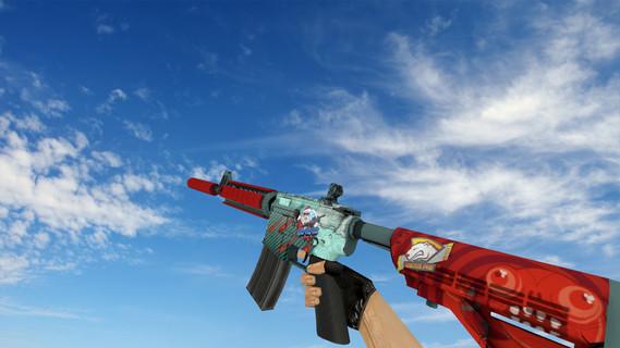 M4A4 «Дождь из пуль»