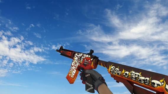 M4A4 «Адское пламя»