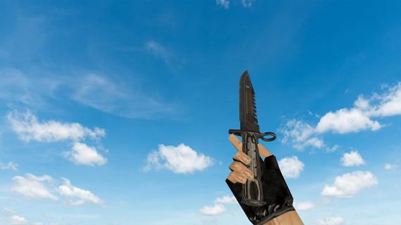 Штык-нож M9 «Черный глянец» v2
