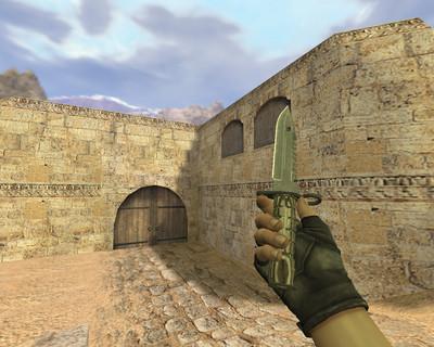 Штык-нож М9 Черный глянец