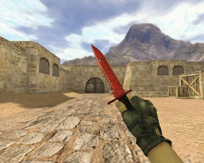 Штык-нож М9 Кровавая паутина