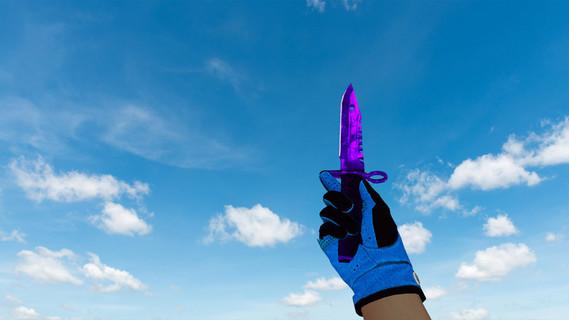 M9 Bayonet Doppler Sapphire