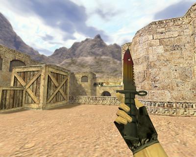 Штык-нож М9 Градиент