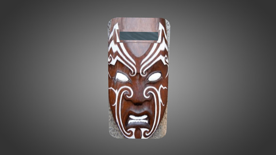 Maori Mask for Shields