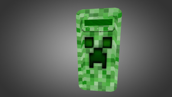 Minecraft Creeper Shield