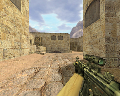 MP5 Камуфляж с оптикой