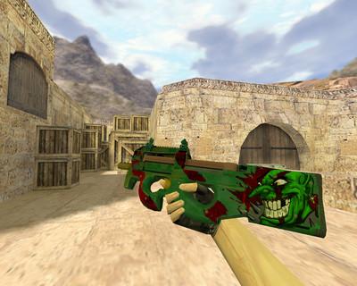 P90 Зеленый гоблин