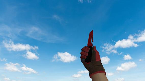 Паракорд-нож Кровавая паутина