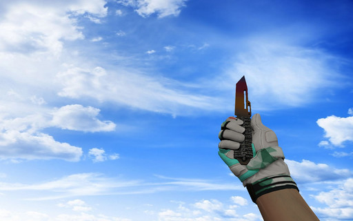 Паракорд-нож Градиент