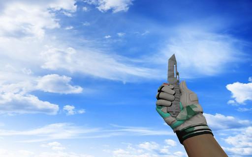 ☆ Паракорд-нож | Городская маскировка