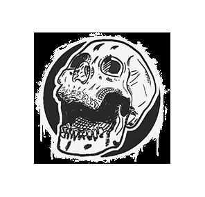 Открытый череп
