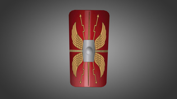 Roman Scutum for Shield