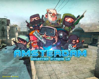 Сборка CS 1.6 от Амстердама