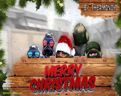 Сборка CS 1.6 TheAmonDit Новогодняя