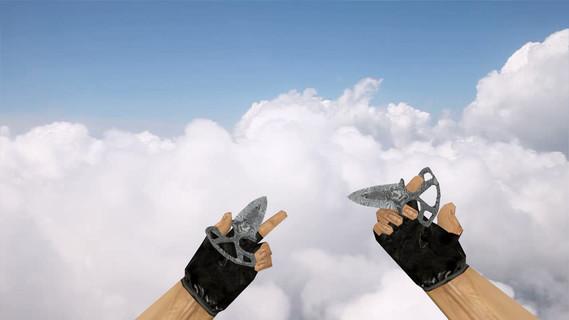 Тычковые ножи «Дамасская сталь»
