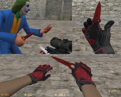 Скелетный нож