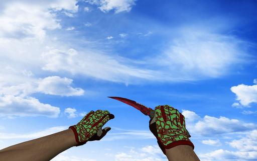 Пак со спортивными перчатками